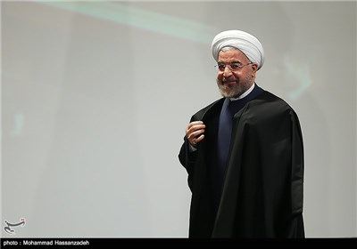 حجت الاسلام حسن روحانی رئیس جمهور در نوزدهمین جشنواره تحقیقاتی علوم پزشکی رازی