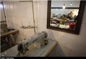 بازدید از کارگاه های تولیدی بازداشتگاه اوین