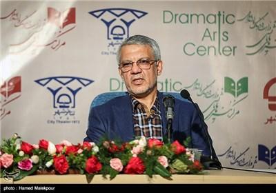 سخنرانی حسین طاهری مدیرکل جدید مرکز هنرهای نمایشی وزارت ارشاد