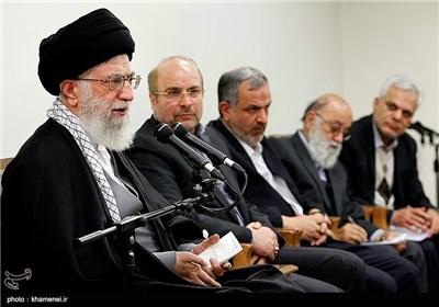 دیدار شهردار و اعضای شورای اسلامی شهر تهران با رهبر معظم انقلاب
