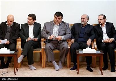 Tehran's City Officials Meet Supreme Leader