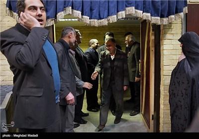 نجفی رئیس سازمان میراث فرهنگی در مراسم یادبود مرحوم کازرونی