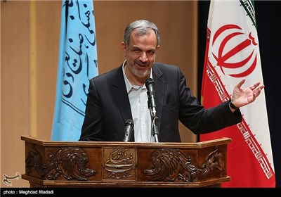 سخنرانی مسجدجامعی رئیس شورای شهر تهران در مراسم یادبود مرحوم کازرونی