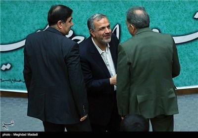 عنوان تصویرمسجدجامعی رئیس شورای شهر تهران در مراسم یادبود مرحوم کازرونی