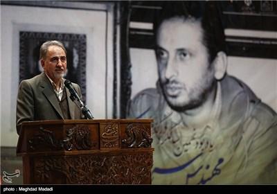 سخنرانی نجفی رئیس سازمان میراث فرهنگی در مراسم یادبود مرحوم کازرونی