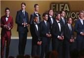 بازیکنان تیم منتخب فیفا در سال 2013 مشخص شدند