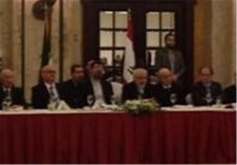 Zarif Invites Iraqi Parliament Speaker to Iran