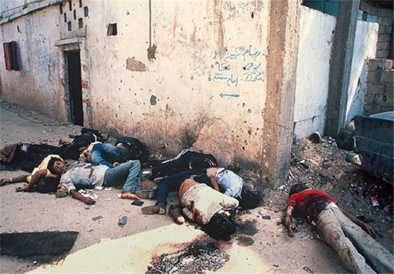 هلاک شارون الذی ارتکب مجزرة صبرا وشاتیلا عام 1982