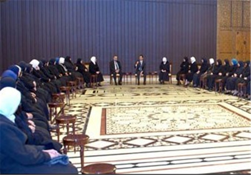 توصیه بشار اسد به فعالان بخش آموزش دینی / ارائه راهکاری درباره نابودی تروریسم