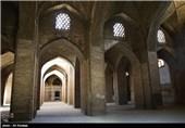 مسجد جامع اصفهان أکبر المساجد فی إیران