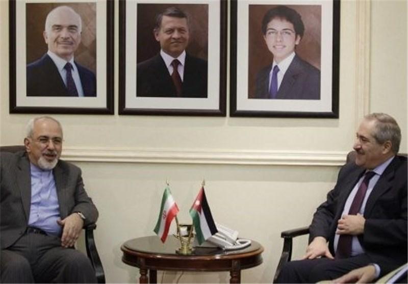 Iranian, Jordanian FMs Discuss Enhancement of Ties