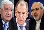 Iranian, Syrian, Russian FMs Hold Trilateral Meeting in Moscow