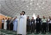 مسلمانان شیعه و سنی عسلویه نماز وحدت اقامه کردند