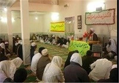 مراسم گرامیداشت هفته وحدت در جالق برگزار شد