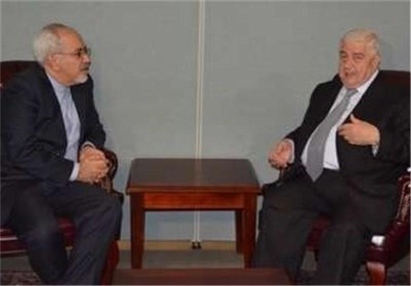 وزیر الخارجیة ونظیره السوری یناقشان التطورات الاقلیمیة والدولیة