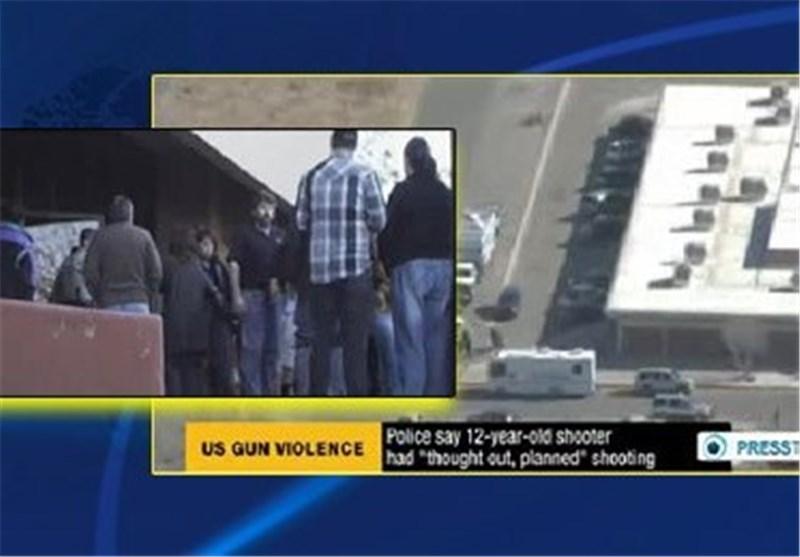 حادث اطلاق نار فی احد مدارس ولایة نیو مکسیکو الامریکیة یؤدی الى اصابة ثلاثة اشخاص بجروح