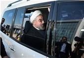 روحانی از اسکله شهید رجایی بندرعباس بازدید کرد