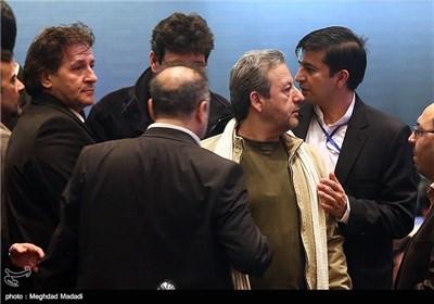 ابوالقاسم طالبی و ابوالفضل پورعرب در اختتامیه سومین دوره جشنواره جام جم