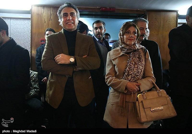 بیژن امکانیان بازیگر در اختتامیه سومین دوره جشنواره جام جم