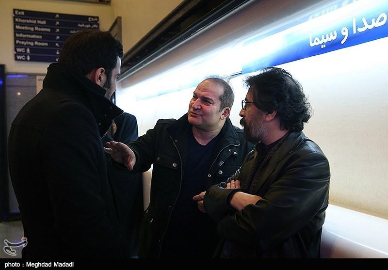 مهدی سلطانی در اختتامیه سومین دوره جشنواره جام جم