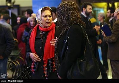 مهرانه مهین ترابی در اختتامیه سومین دوره جشنواره جام جم