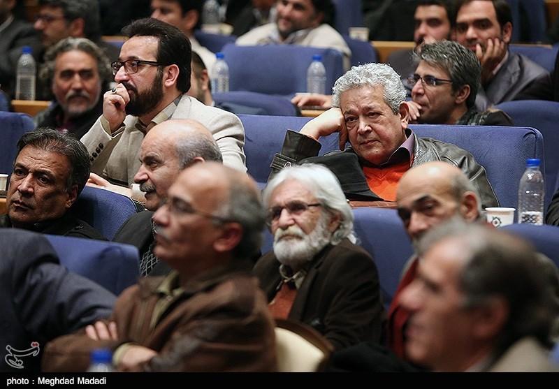 رضا فیاضی و فرزاد جمشیدی در اختتامیه سومین دوره جشنواره جام جم