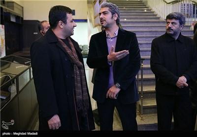 مهدی پاکدل در اختتامیه سومین دوره جشنواره جام جم