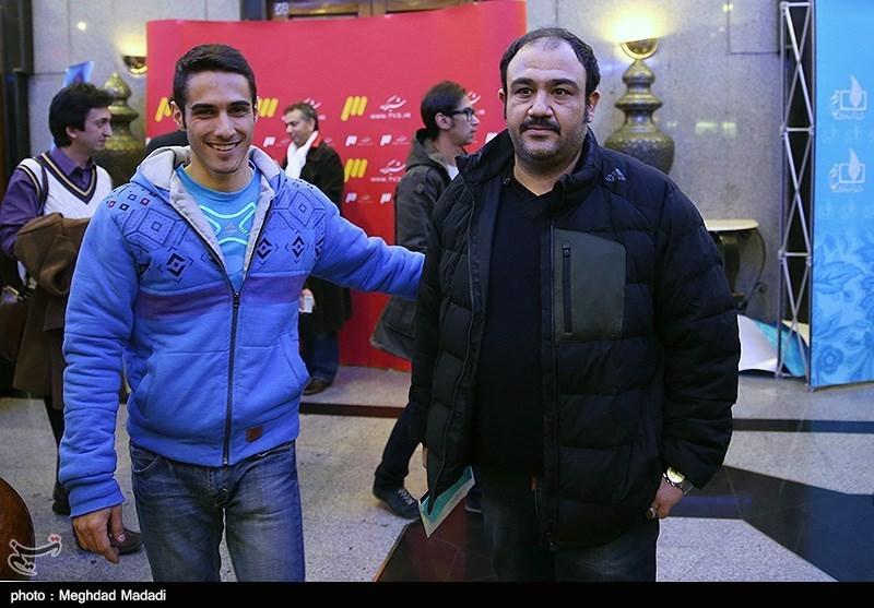 مهران غفوریان در اختتامیه سومین دوره جشنواره جام جم