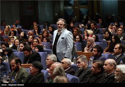 مجید مظفری در اختتامیه سومین دوره جشنواره جام جم