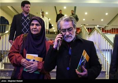مجید انتظامی و انسیه شاهحسینی در اختتامیه سومین دوره جشنواره جام جم