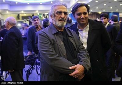 مجید اخشابی خواننده در اختتامیه سومین دوره جشنواره جام جم
