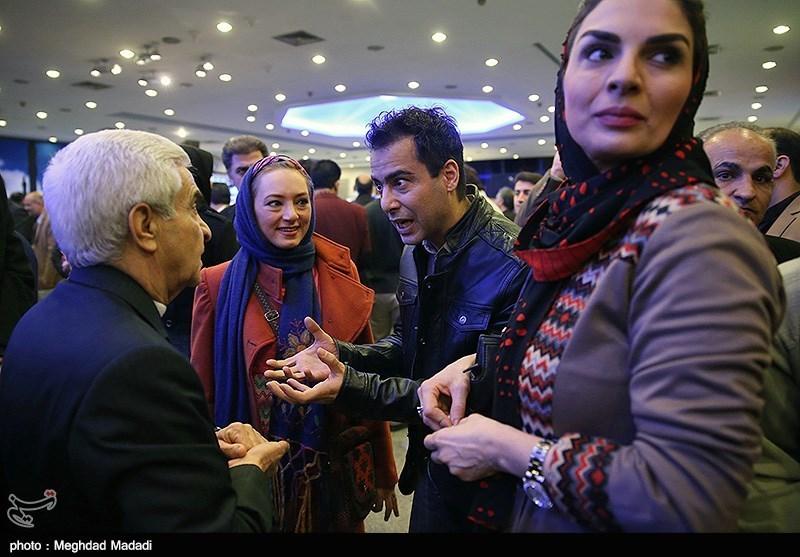 نیما فلاح و سحر ولدبیگی در اختتامیه سومین دوره جشنواره جام جم