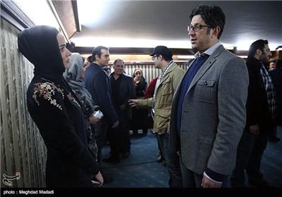 شهاب عباسی در اختتامیه سومین دوره جشنواره جام جم