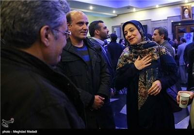شبنم مقدمی در اختتامیه سومین دوره جشنواره جام جم