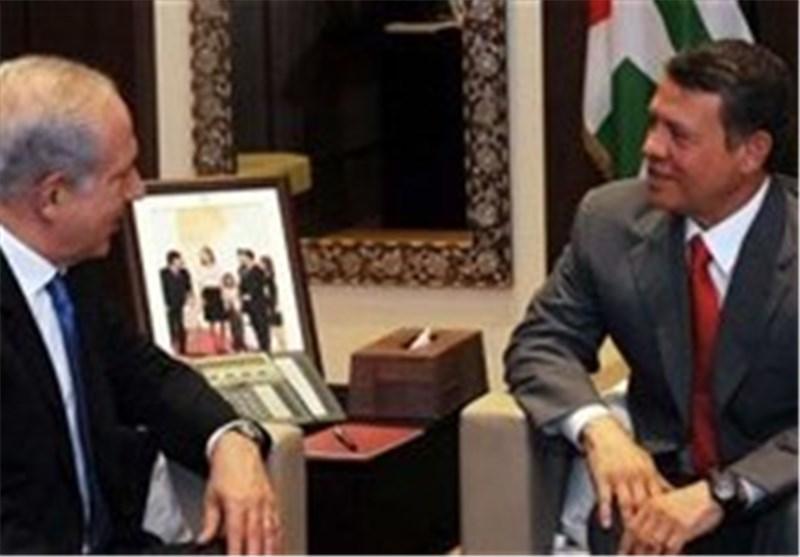 دیدار نتانیاهو با شاه اردن در امان