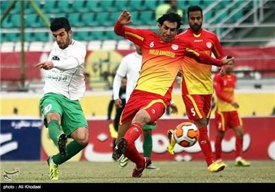 دیدار تیمهای ذوب اهن اصفهان و فولاد خوزستان
