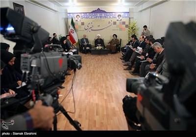 نشست خبری حجت الاسلام روحانی رئیس جمهور در سفر به استان خوزستان