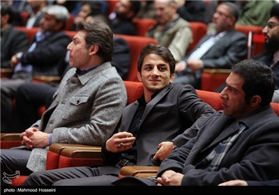 حمید سوریان در مراسم تجلیل از نخبگان و قهرمانان ورزشی سپاه حضرت محمد رسولالله(ص) تهران بزرگ