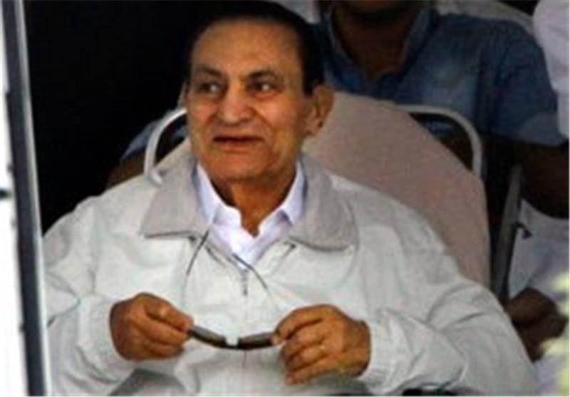 ابراز خرسندی حسنی مبارک از همه پرسی در مصر