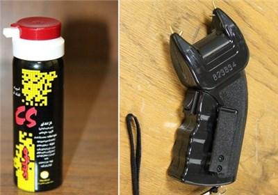 تجهیزات پلیس شوکر گاز اشک آور