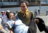 Shots, Blasts as Thai Protest Rivals Clash on Election Eve