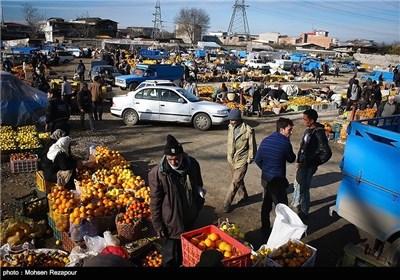 بازارچه دستفروشان مرکبات قائم شهر