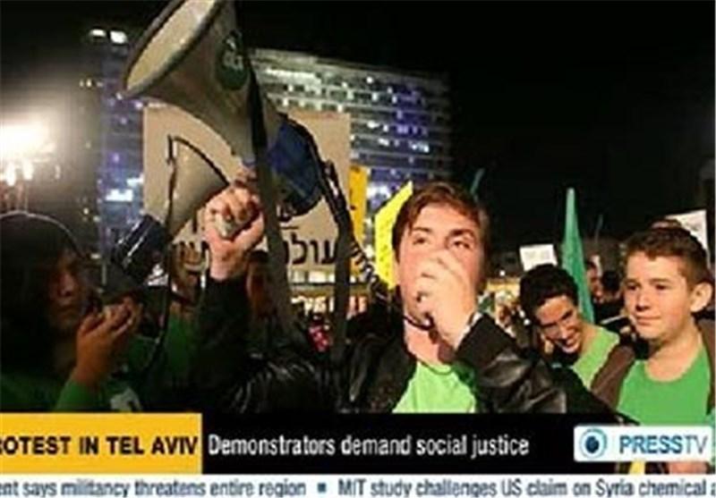 تظاهرات احتجاجیة وسط «تل ابیب» اثر تفشی الفساد والتمییز و انعدام العدالة الاجتماعیة