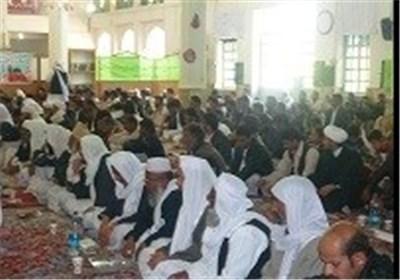 جشن بزرگ میلاد پیامبر اکرم (ص) در سراوان برگزار شد