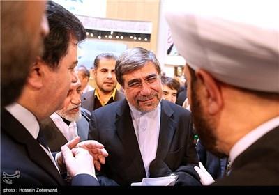 علی جنتی وزیر ارشاد در مراسم اختتامیه بیست و هفتمین کنفرانس وحدت اسلامی
