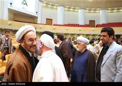 حجت الاسلام علی یونسی در مراسم اختتامیه بیست و هفتمین کنفرانس وحدت اسلامی