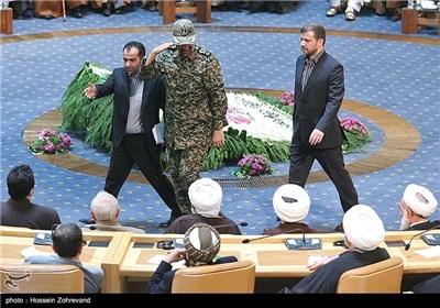 سردار علی فضلی در مراسم اختتامیه بیست و هفتمین کنفرانس وحدت اسلامی