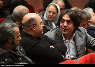 مانی رهنما در مراسم تودیع و معارفه مدیرکل دفتر موسیقی وزارت ارشاد