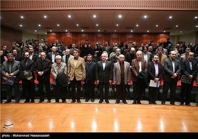 اجرای سرود جمهوری اسلامی ایران در مراسم تودیع و معارفه مدیرکل دفتر موسیقی وزارت ارشاد