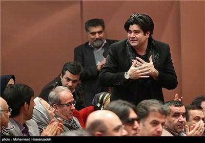 سالار عقیلی در مراسم تودیع و معارفه مدیرکل دفتر موسیقی وزارت ارشاد